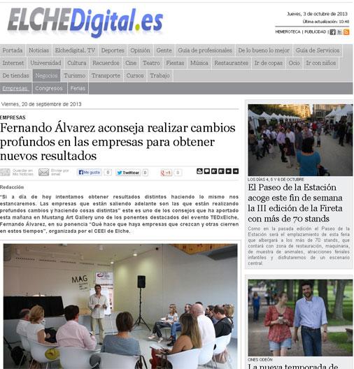 Elche Digital - TEDxElche