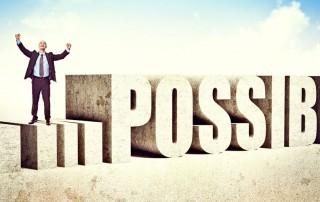 Lo imposible lo puedes lograr