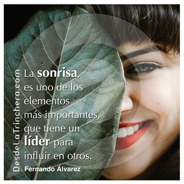Cómo la sonrisa, puede ser el arma secreta del liderazgo - Fernando Alvarez - La sonrisa es uno de los elementos mas_importantes que tiene un lider para influir en otros